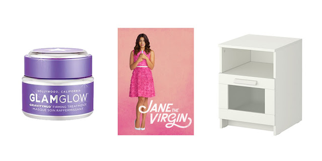 Glamglow Face Mask, Jane the Virgin Netflix, IKEA Nightstand, College Lifestyle, Lifestyle Blogger
