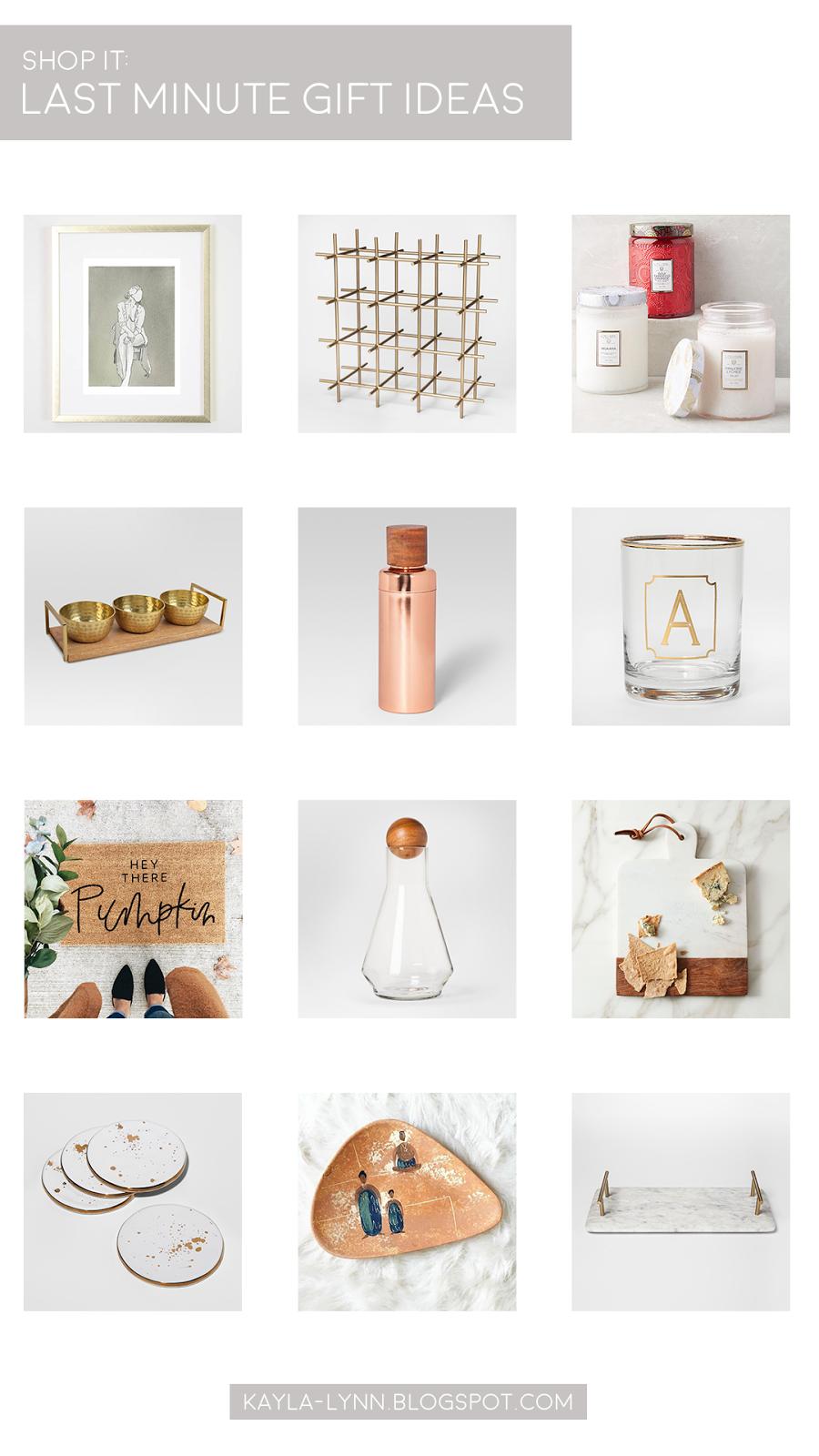 Last Minute, No Fuss Gift Ideas | Kayla Lynn