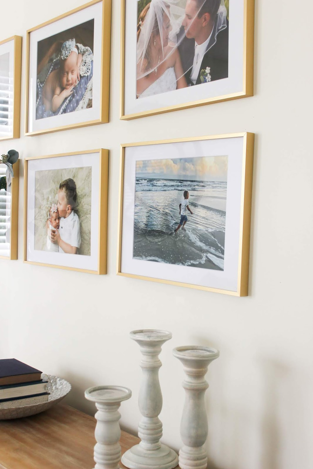 how to keep picture frames straight