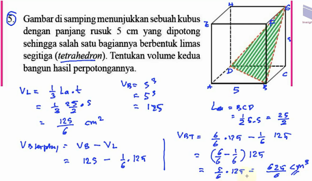 Jawaban Ayo Kita Berlatih 8.8 Halaman 213 Matematika Kelas ...