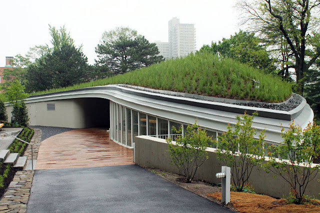 Visitor center brooklyn botanic garden s by weiss and manfredi - Brooklyn botanical garden free admission ...