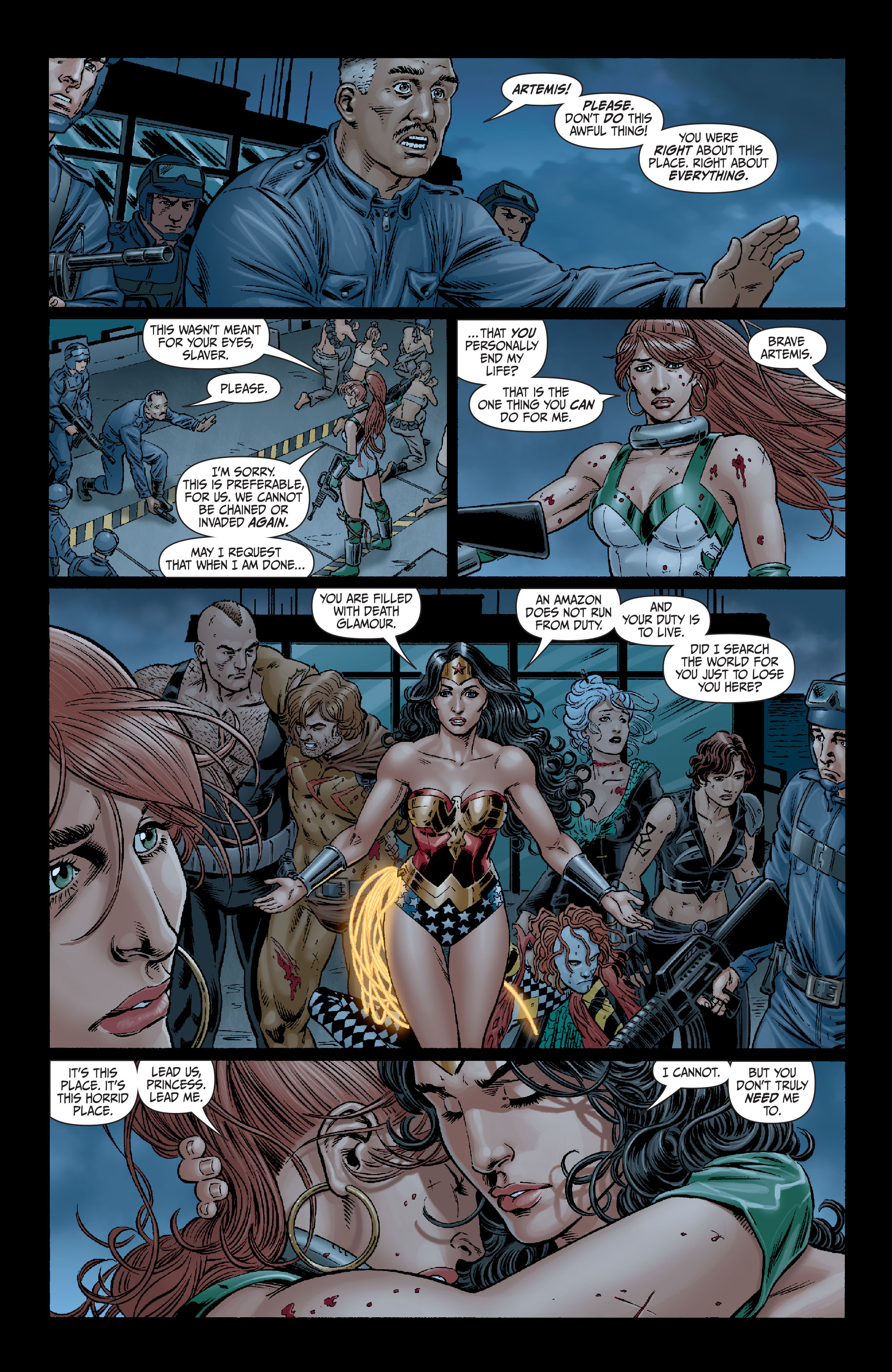 Read online Secret Six (2008) comic -  Issue #14 - 20
