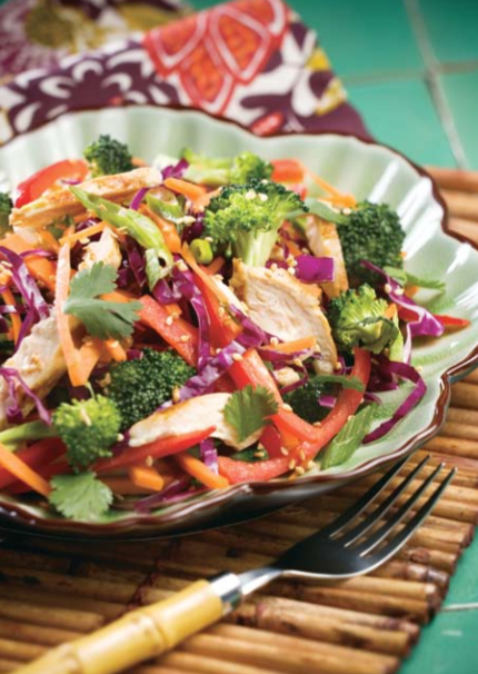 Zesty Asian Chicken Salad Recipe