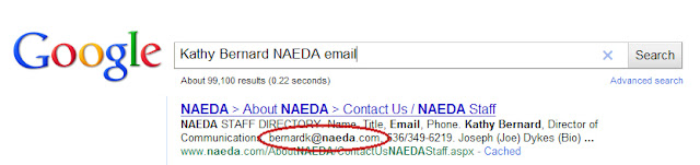 finding a person's email address on Google, using Google to find an email address,