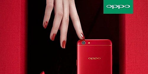Oppo-F3-red-version