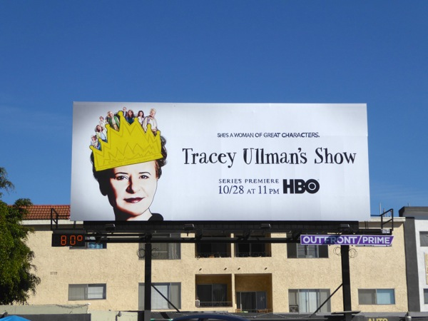 Tracey Ullman's Show series premiere billboard