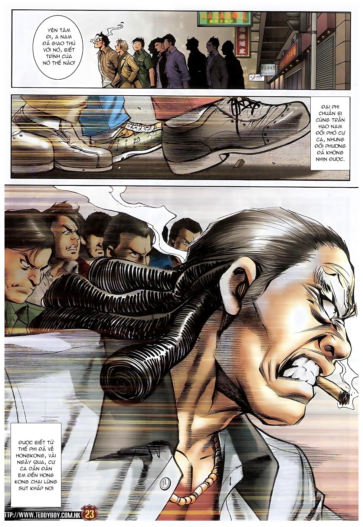 Người Trong Giang Hồ - Chapter 1548: Cha con ra trận - Pic 19