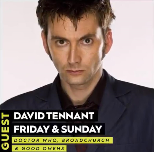 David Tennant - New York Comic Con fan convention