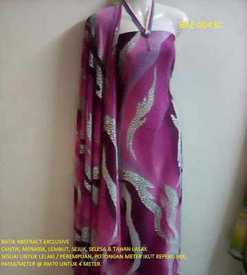 BAE 0043C: BATIK ABSTRACT EXCLUSIVE