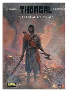 Thorgal, el fuego escarlata #35 de Senté, Rosinsky Dorison