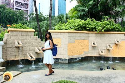 Hotel Istana Entrance Garden Area, Kuala Lumpur, Anamika Chattopadhyaya