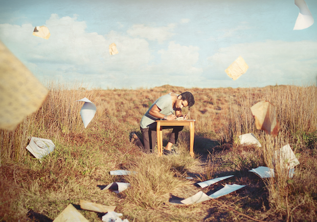 2. The Letter (Outdoor Men Photography)
