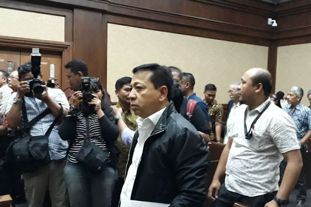 Menurut KPK, Setya Novanto Dapat Jatah 6 Juta Dolar AS Terkait Proyek PLTU