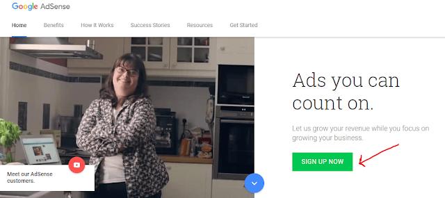 Applying for Adsense- Step 1