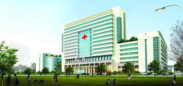 Bệnh viện Quốc tế bên trong khu biệt thự An Phú Shop Villa