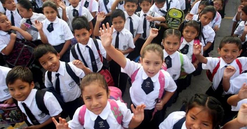 MINEDU: Ministro de Educación estará en Lambayeque en inicio de año escolar 2019 - www.minedu.gob.pe