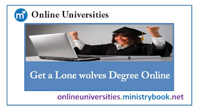 Get a Lone wolves Degree Online