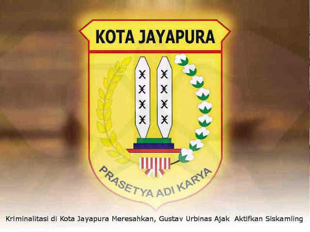 Kriminalitas di Kota Jayapura Meresahkan, Gustav Urbinas Ajak Masyarakat Aktifkan Siskamling