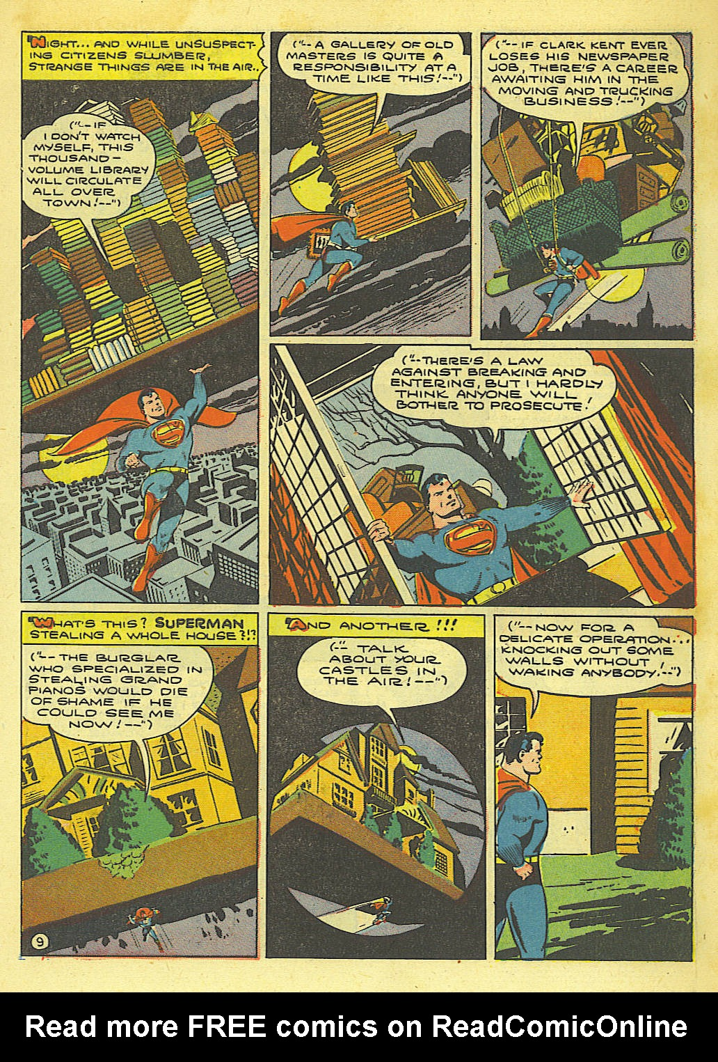 Read online Action Comics (1938) comic -  Issue #67 - 11