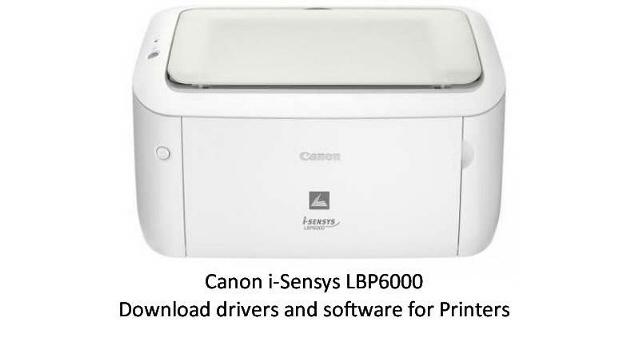 driver canon i-sensys lbp6000