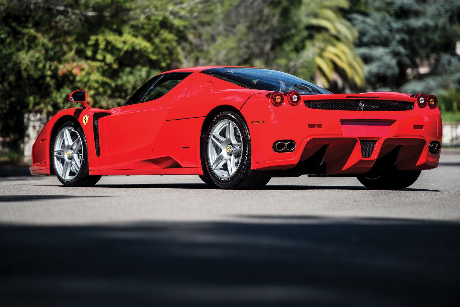 High Mileage Cars >> Unique Rosso Scuderia Ferrari Enzo To Be Auctioned In May   Carscoops