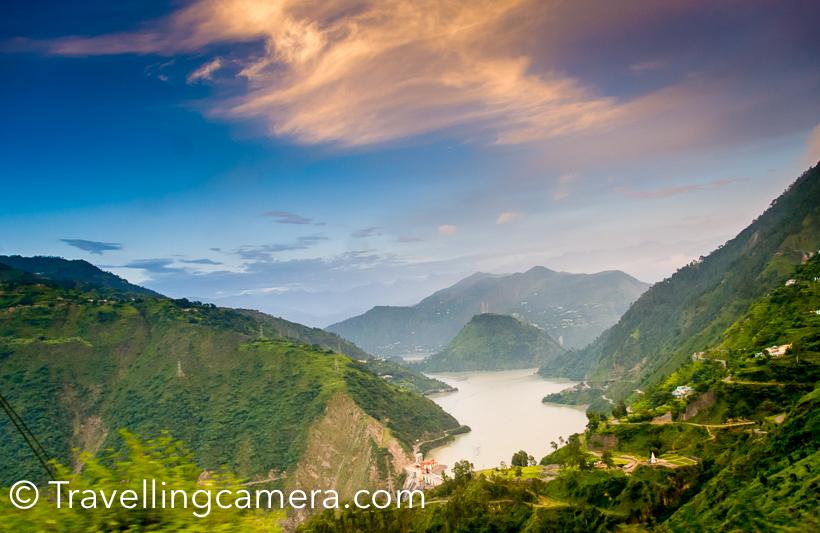 Green view of Chamera Valley in Himachal Pradesh