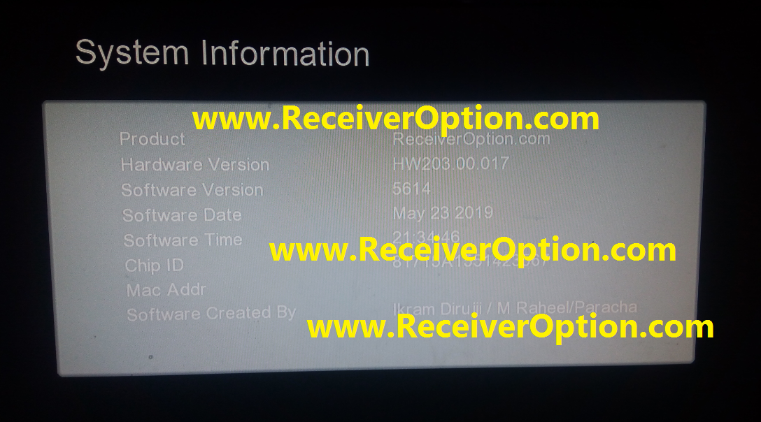New Software Receiver Updates 2019