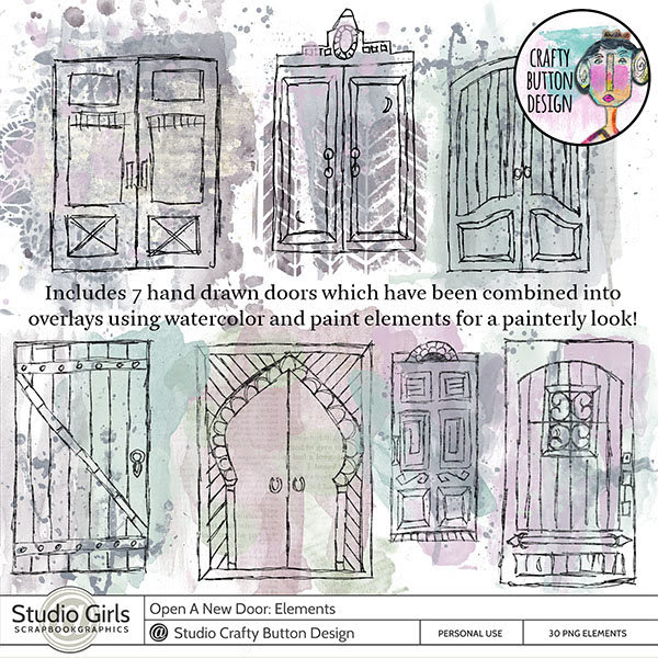 "Scrapbooking im Rollinest: ""Open A New Door"" by Crafty ..."