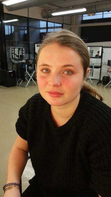 Avant maquillage