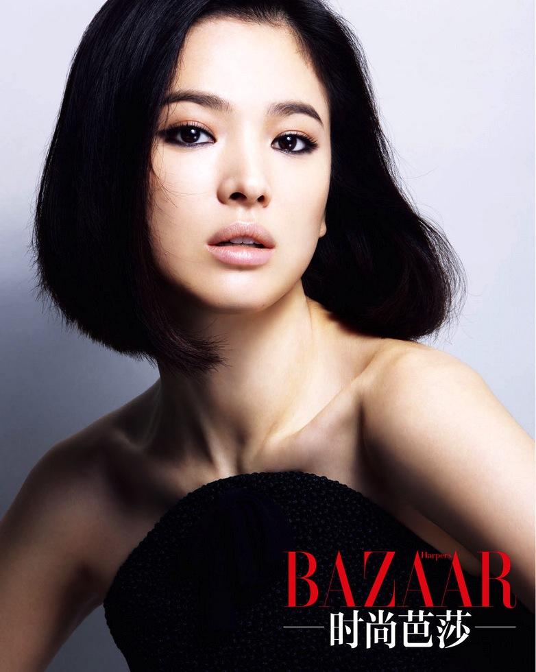 Eye Candy : Song Hye Kyo for Harper's Bazaar   rolala loves