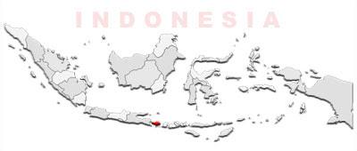 image: Bali map location