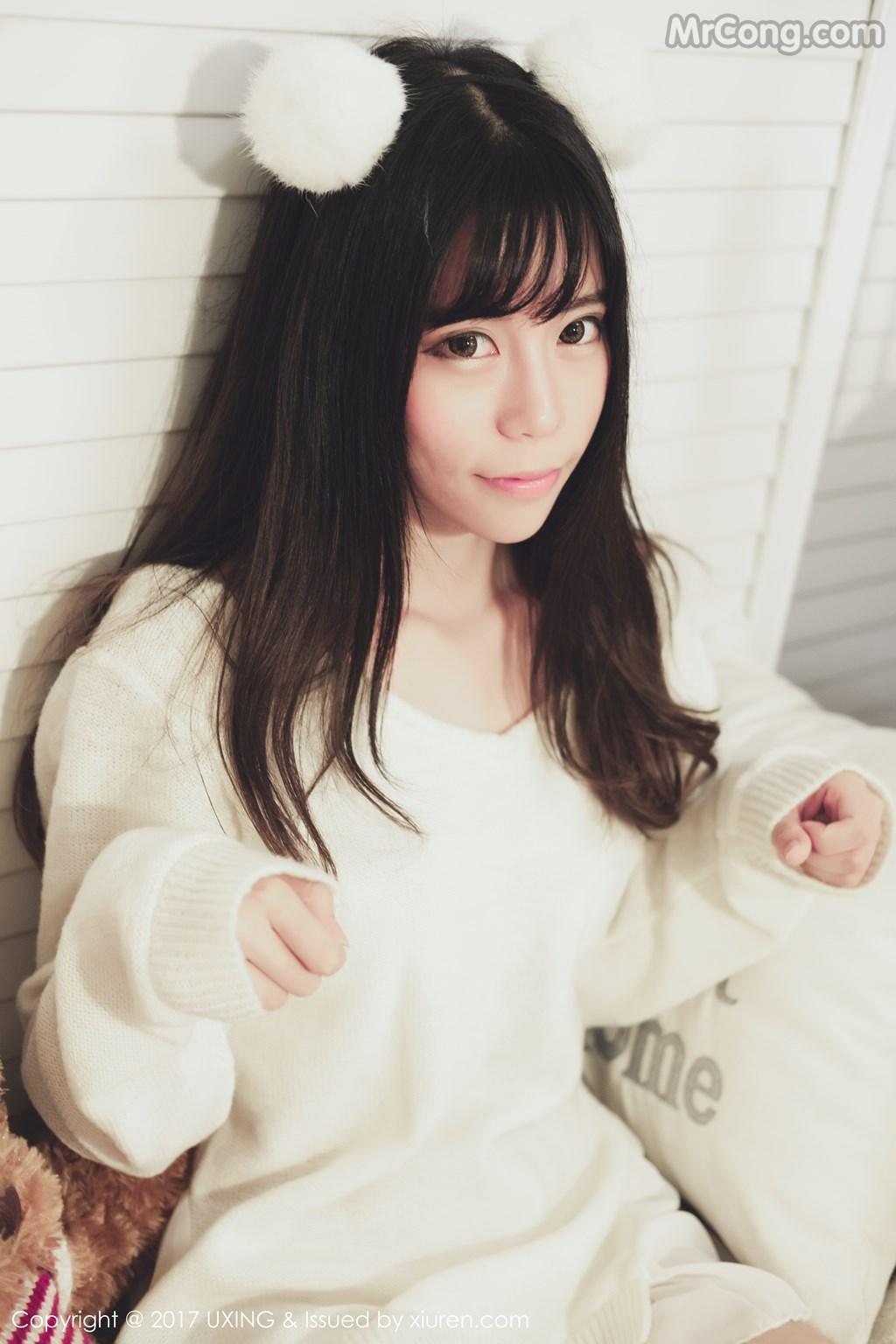 Image UXING-Vol.048-Yo-Jiang-MrCong.com-007 in post UXING Vol.048: Người mẫu Yo酱 (33 ảnh)