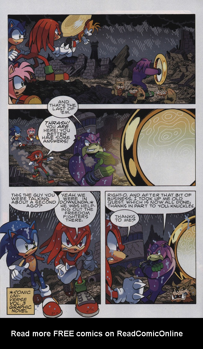 Read online Sonic The Hedgehog comic -  Issue #244 - 27