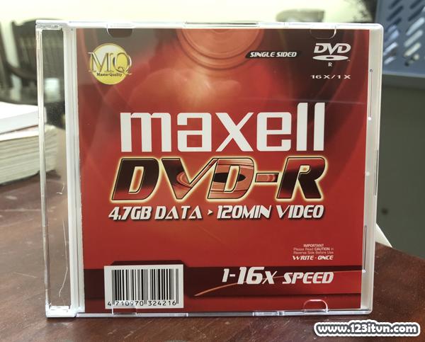 Ghi đĩa CD DVD từ file iso bằng Nero 7