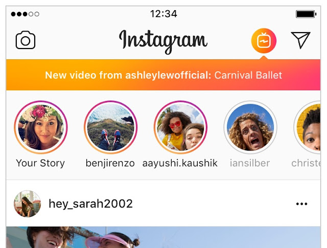 "Instagram Launched "" IGTV "", A New Longterm-Video App To Compete With Youtube And SnapChat"