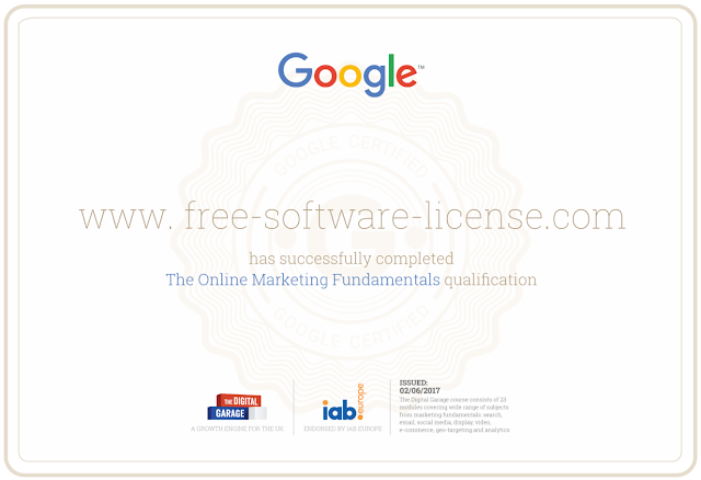[GIVEAWAY] Get Certified by Google [Certificate of online Proficiency]
