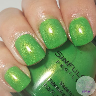 SinfulColors St. Patrick's Day 2016 - Happy Ending | Kat Stays Polished