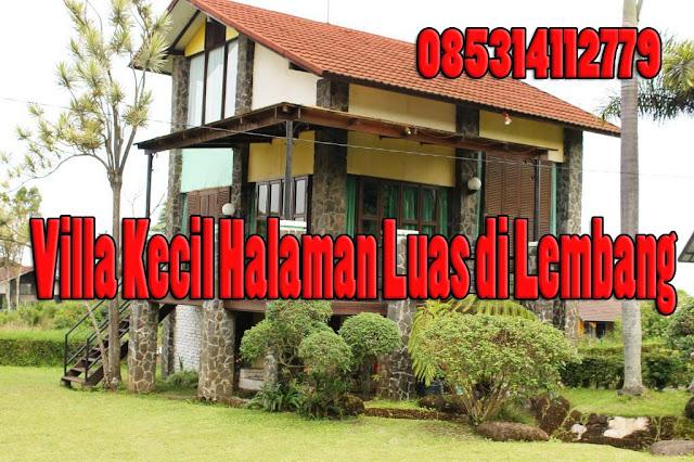 Villa Kecil Halaman Luas di Lembang - Villa Istana Bunga Blok S No 8 Lembang