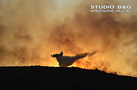 Στο κόκκινο η Αργολίδα - Πολύ υψηλός ο κίνδυνος πυρκαγιάς την Δευτέρα