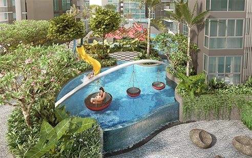 Signature at Yishun - Slide Pool