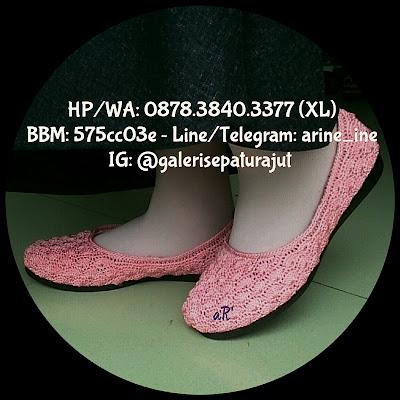Sepatu Rajut Wanita Terbaru Model Polos ~ 0878.3840.3377 (XL)