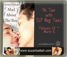 CLP Blog Tour Interview: Mad About The Boy's Suzan Battah