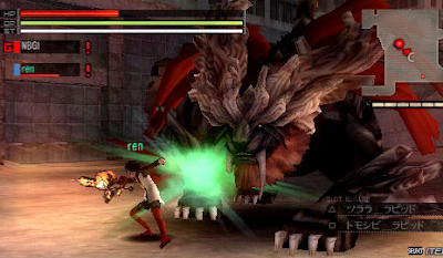 Game God Eater Burst PPSSSP Android