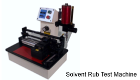 Solvent Rub Test Machine