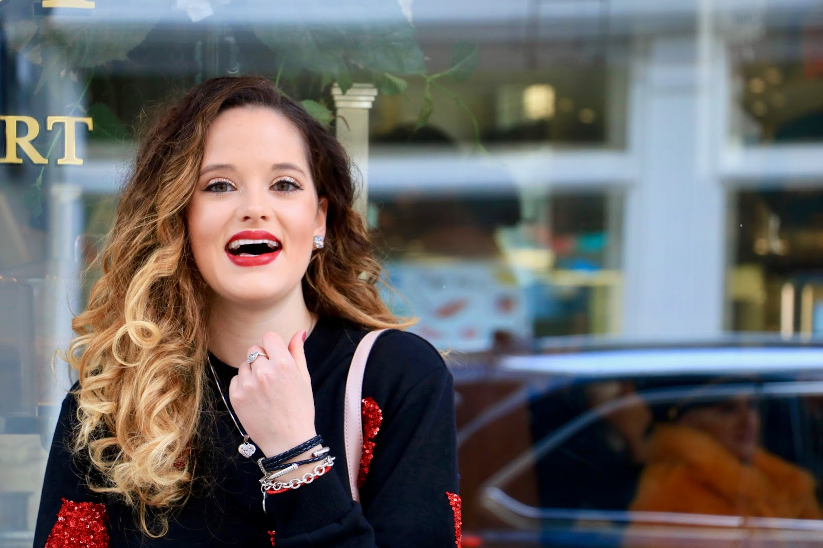 Nyc fashion blogger Kathleen Harper's Valentine's Day outfit
