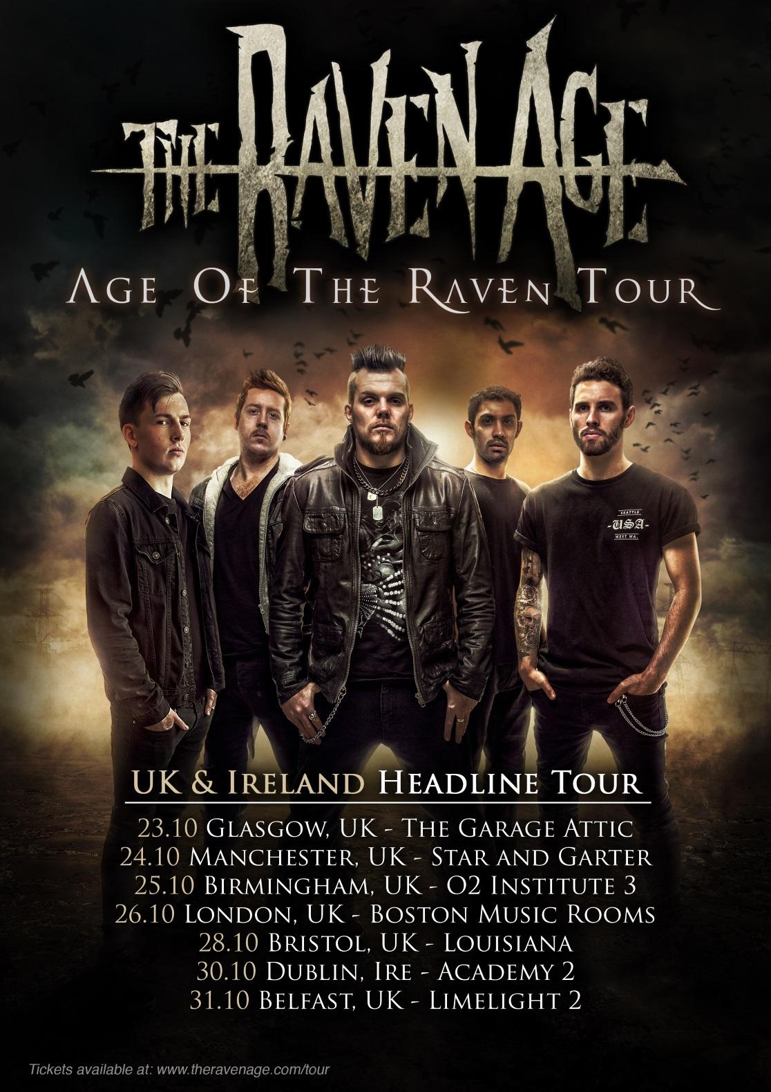 belfast metalheads reunited: news: the raven age set for belfast