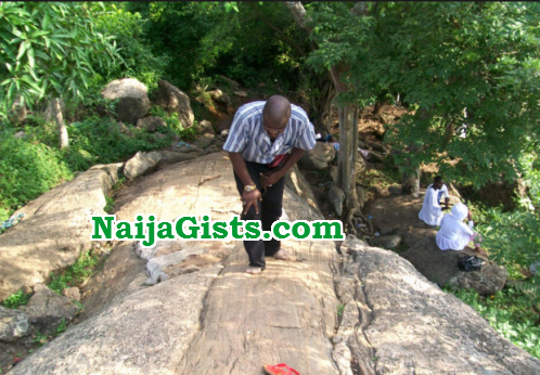 ritualists behead man dumps body prayer mountain