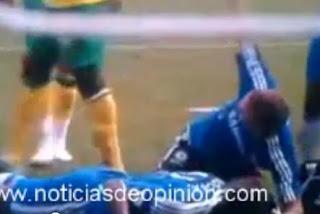 Vídeo de la caída de Drogba