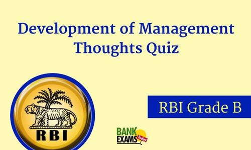 rbi grade b quiz
