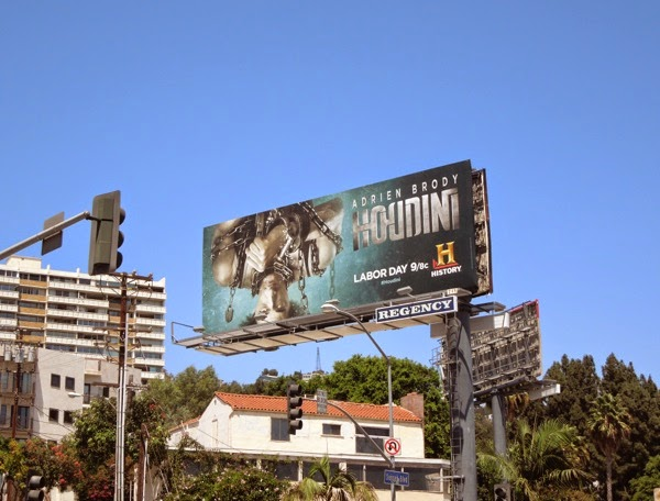 Houdini mini-series billboard